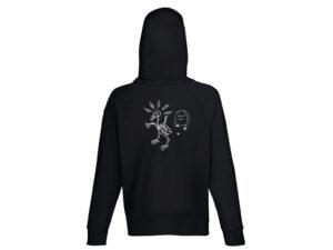 Hoodie 2021 Black (Zipper)